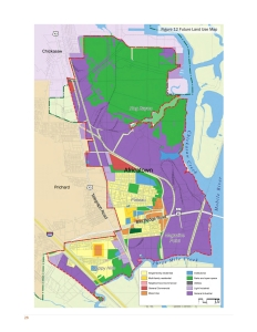 Africatown Neighborhood Plan Future Land Use Map (2016)