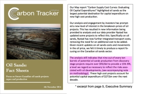 Carbon Tracker report