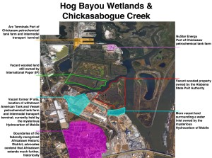 New City of Mobile petrochemical tank farm zoning regulations may push dirty development slightly further away from Africatown but closer to Chickasaw's Gulf Street Alley neighborhood