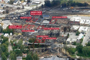Some of the Lac-Mégantic Casualties; image by TheStar.com (https://www.thestar.com/news/canada/2013/07/12/lac_megantic_where_they_died.html)