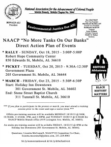 NAACP Direct Action Event Plan