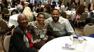 Ruth Ballard, Evelyn Knight, Omar Muhammad
