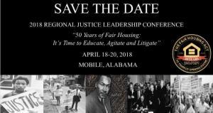 2018 Justice Leadership Summit Flyer