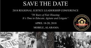 2018 Justice Leadership Summit Flyer