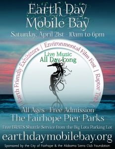 2018 Earth Day Mobile Bay Flyer