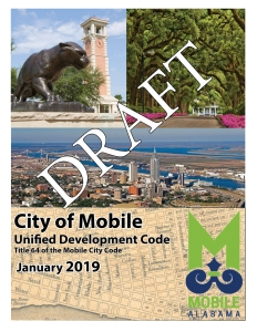 Cover Page of the Build Mobile proposed UDC